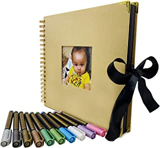 memory book with black pages