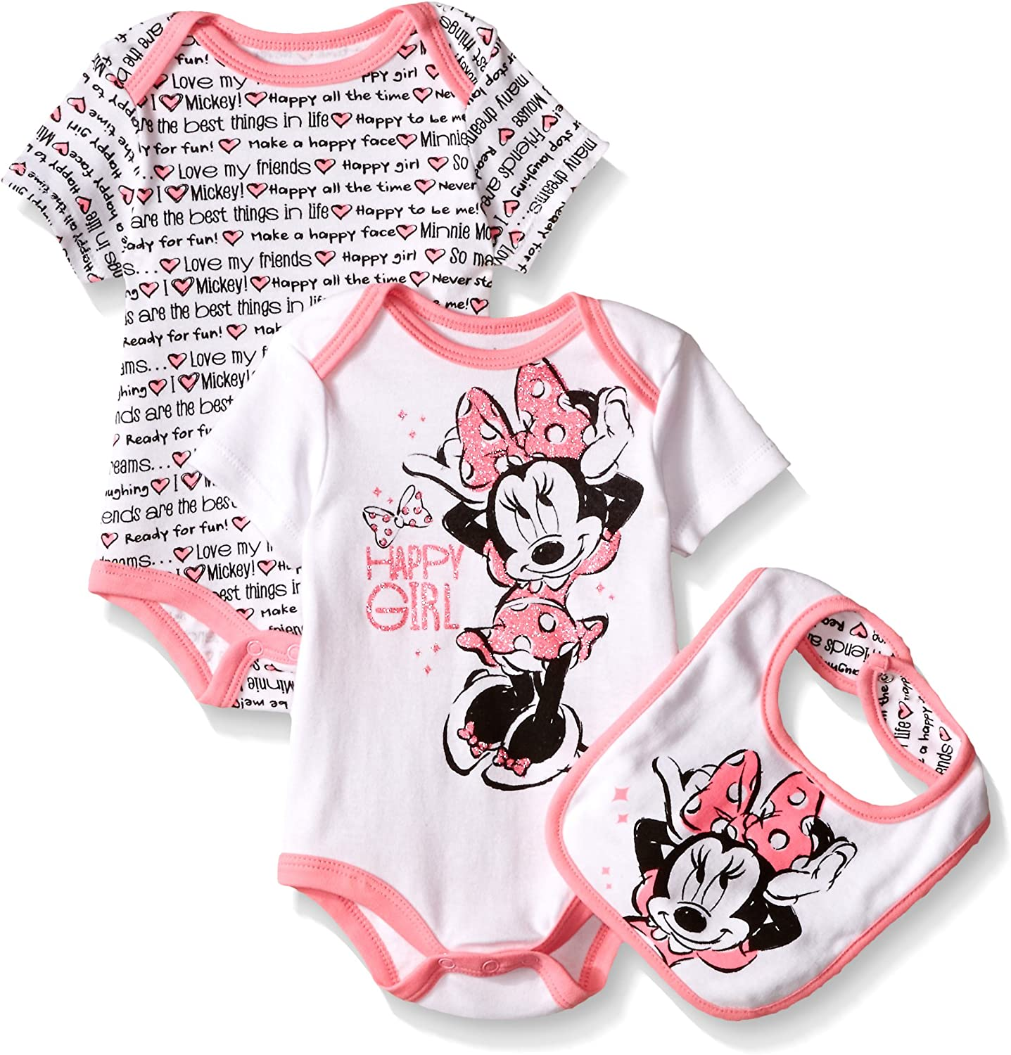 Cute Baby Bodysuit Mickey Mouse /& Minnie Mouse Baby Bodysuit Minnie Mouse Bodysuit Mickey Mouse Bodysuit Made with Sublimation