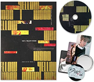 STRAY KIDS Special Album - CLE 2 : YELLOW WOOD [ Yellow Wood ver. ] CD + Photobook + 3 QR Photocards + FREE GIFT