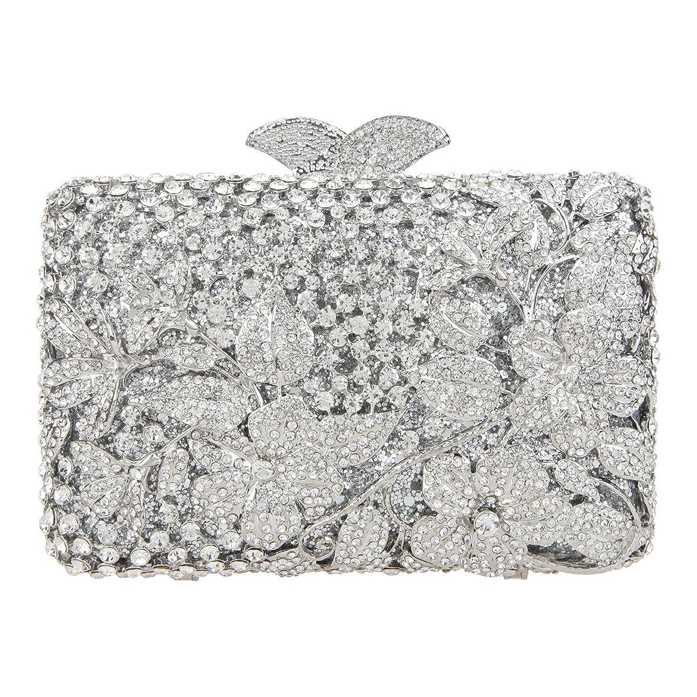 服を片付ける宝石こんにちはFawziya レディース US サイズ: 16(L) x5.5(W) x12(H) cm カラー: シルバー