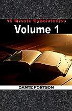 15 Minute Bybelstudies: Vol. 1 (Afrikaans Edition)