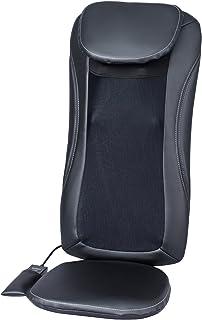 スライヴ マッサージシート 「横回転もみ玉搭載」 ブラック MD-8600 BK