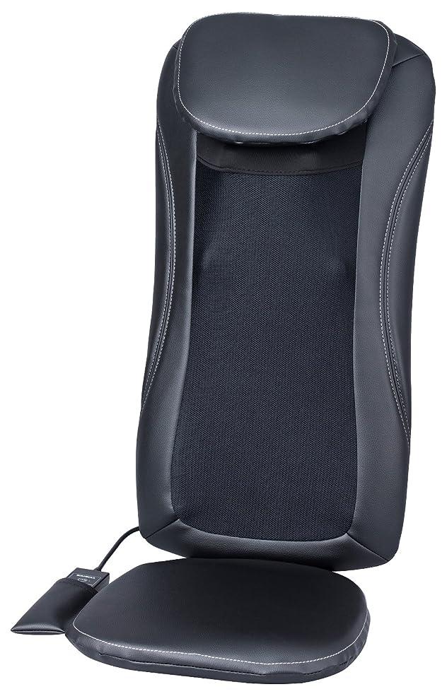 涙アームストロングラフトスライヴ マッサージシート 「横回転もみ玉搭載」 ブラック MD-8600 BK