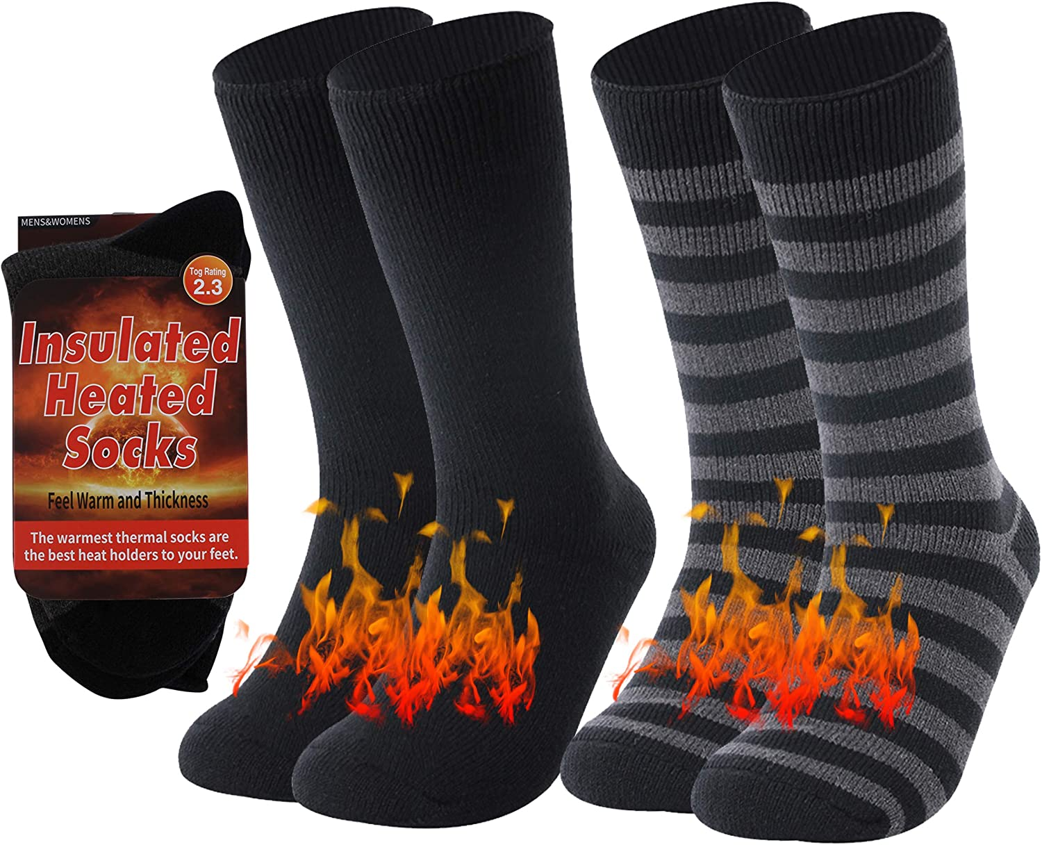 RTZAT Max 71% OFF Heavy Thermal Socks Thick Soc Now free shipping Crew Cold Insulated Weather