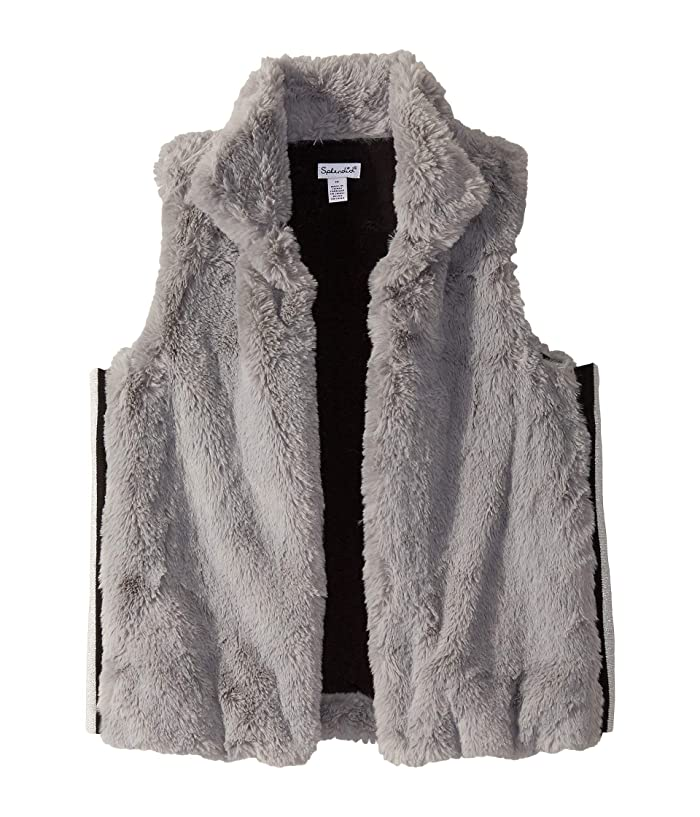 Ella Moss Girls Hoodie Jacket Faux-Fur Coat