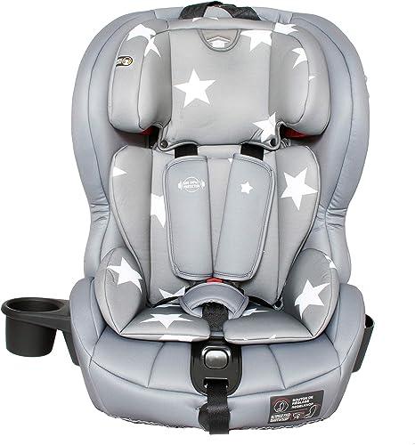 My Babiie Group 1 2 3 Car Seat Grey Stars: image