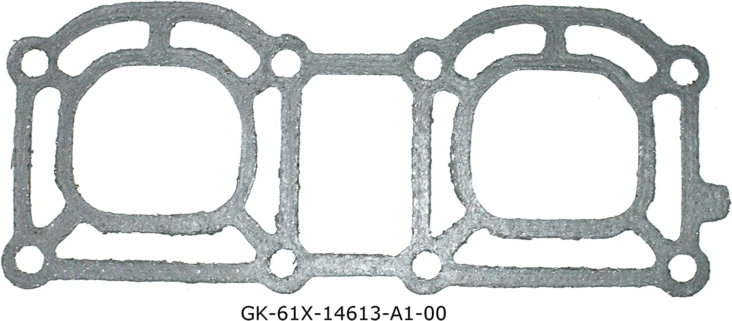 Aftermarket Exhaust Pipe Manifold Fashionable Gasket Compatible Shipping included with Yamaha