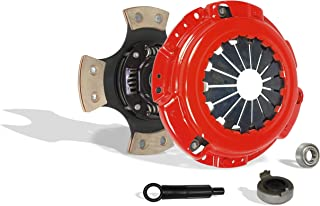 Clutch Kit Works With Acura Cl Honda Accord Dx Ex Lx Value Package Type SH VTEC 1990-2002 2.2L l4 2.3L l4 GAS SOHC 2.2L l4 GAS DOHC Naturally Aspirated (F22; F23; 4-Puck Disc Stage 3)