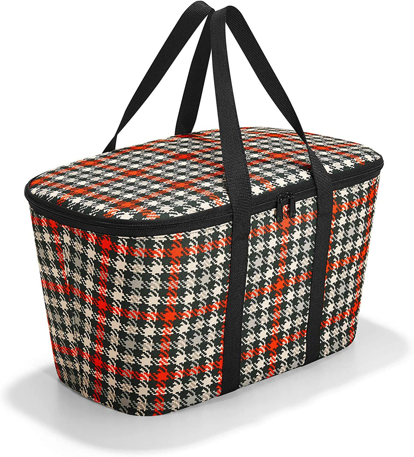 reisenthel coolerbag glencheck red Gym Tote 44 Centimeters 20 Multicolour (Glencheck Red)