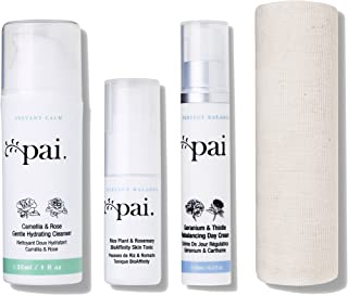 Pai Skincare Anywhere Essentials Pure Hydration Travel Collection with Omega 3 and Vitamins A, B & E