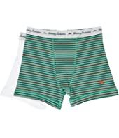 Tommy Bahama - Stripe Stretch Cotton Comfort Boxer Briefs 2-Pack