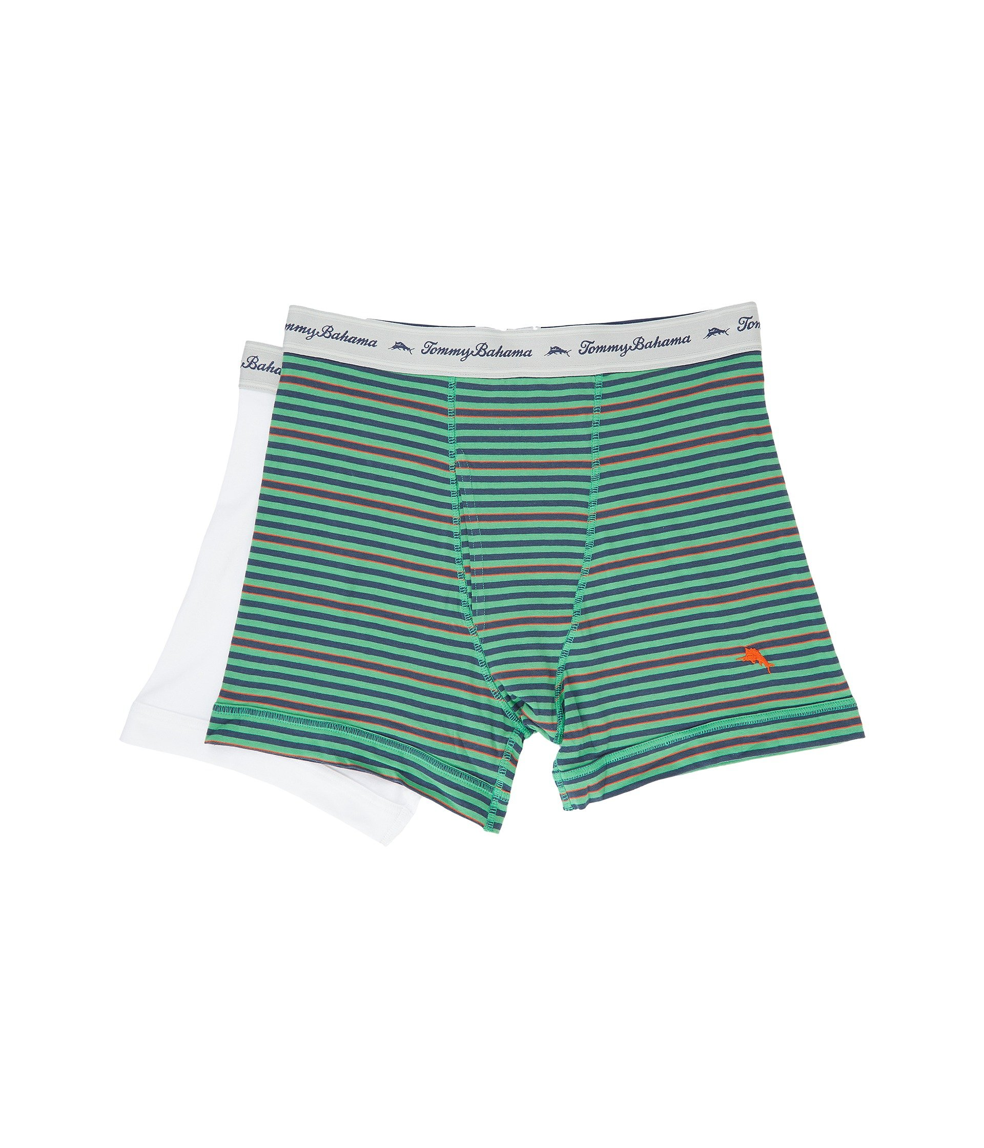 Ropa Interior para Hombre Tommy Bahama Stripe Stretch Cotton Comfort Boxer Briefs 2-Pack  + Tommy Bahama en VeoyCompro.net