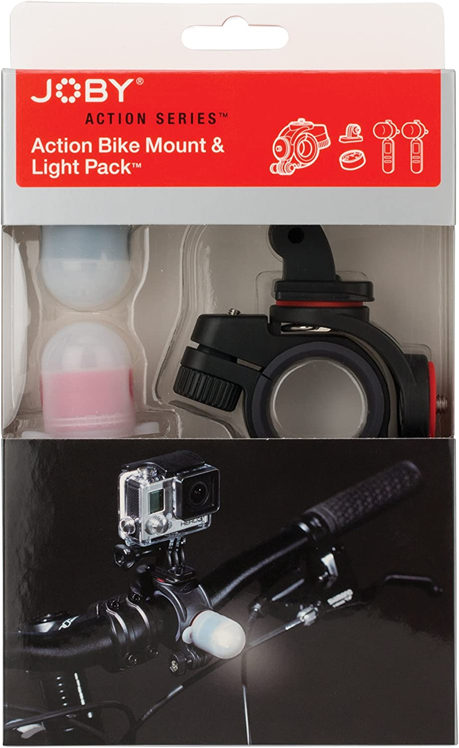 JOBY Bike Mount Outlet SALE Safety and trust Light Pack for Action GoPro Cam Other Video or