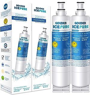 4X Réfrigérateur Filtre À Eau Pour Whirlpool GD5SHAXNS03