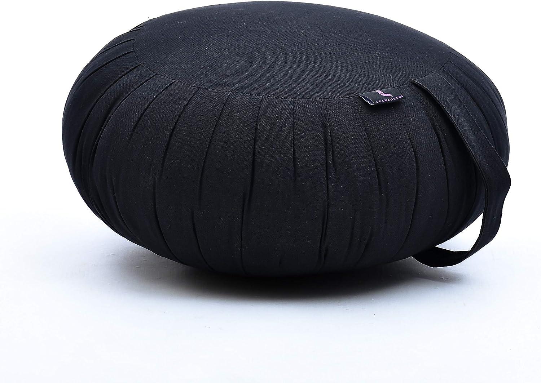 LEEWADEE Meditation Cushion Round Zafu Popular standard Pillow for Max 90% OFF Seating Floor
