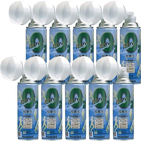 イワタニ(Iwatani) ピュア 酸素缶 NRS-1 10本セット 酸素