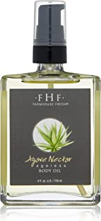 FarmHouse Fresh Agave Nectar Ageless Body Oil, Oatmeal, 4 fl. oz.