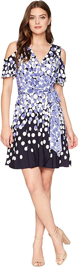 Tahari by ASL Jersey Dot Dress