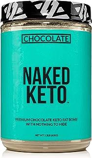 Naked Chocolate Keto – Premium Chocolate Keto Fat Bomb Powder – Nothing Artificial - Gluten-Free Keto Bomb Chocolate MCT O...