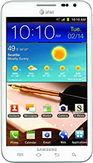 Samsung Galaxy Note, i717 16GB Unlocked GSM 4G LTE 8MP Camera Smartphone with S Pen Stylus - White