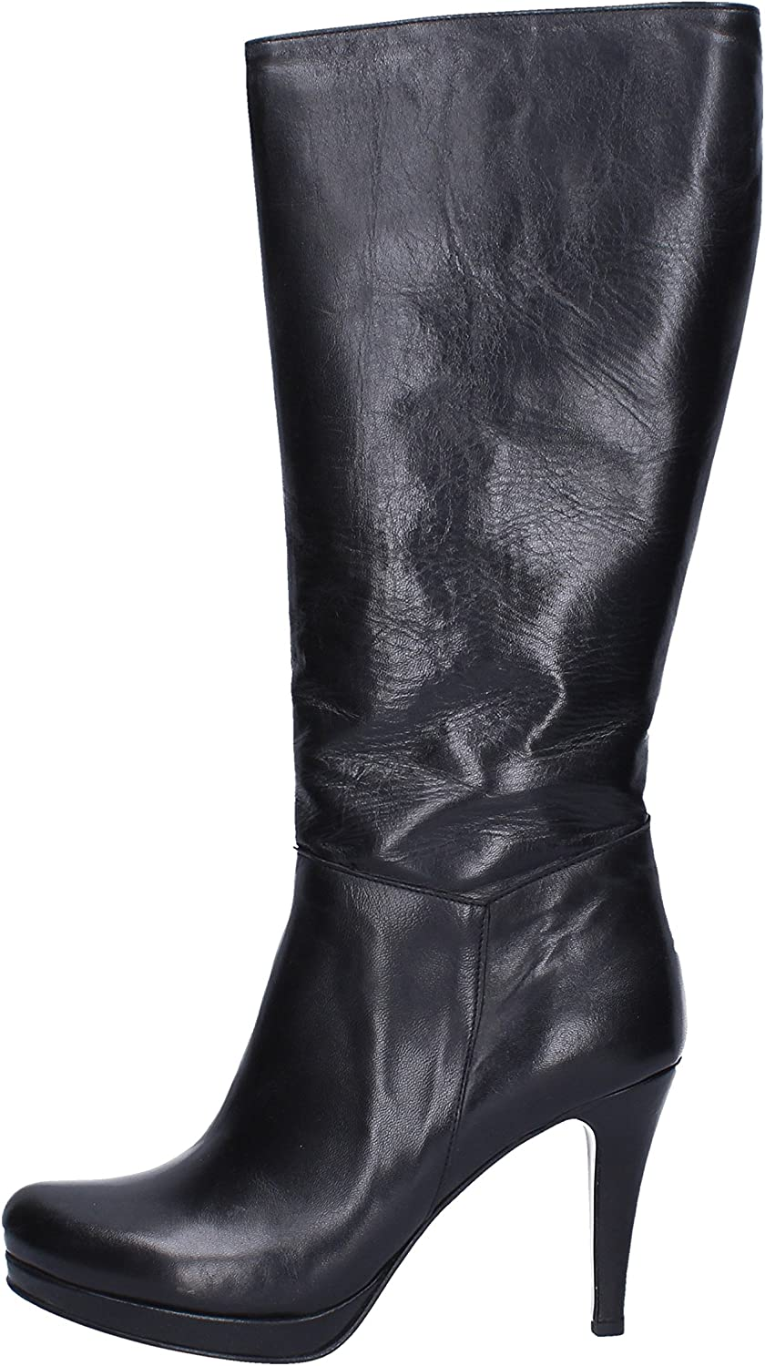 CALPIERRE Boots Womens Leather Black