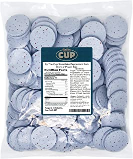 By The Cup Snowflake Peppermint Bark Coins 2 Pound Bag