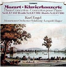 Mozart Klavierkonzerte - Piano Concertos - Concertos pour Piano Nr.21 KV 467 - Rondo Nr.1 KV 382 - rondo Nr.2 KV 386 [Viny...