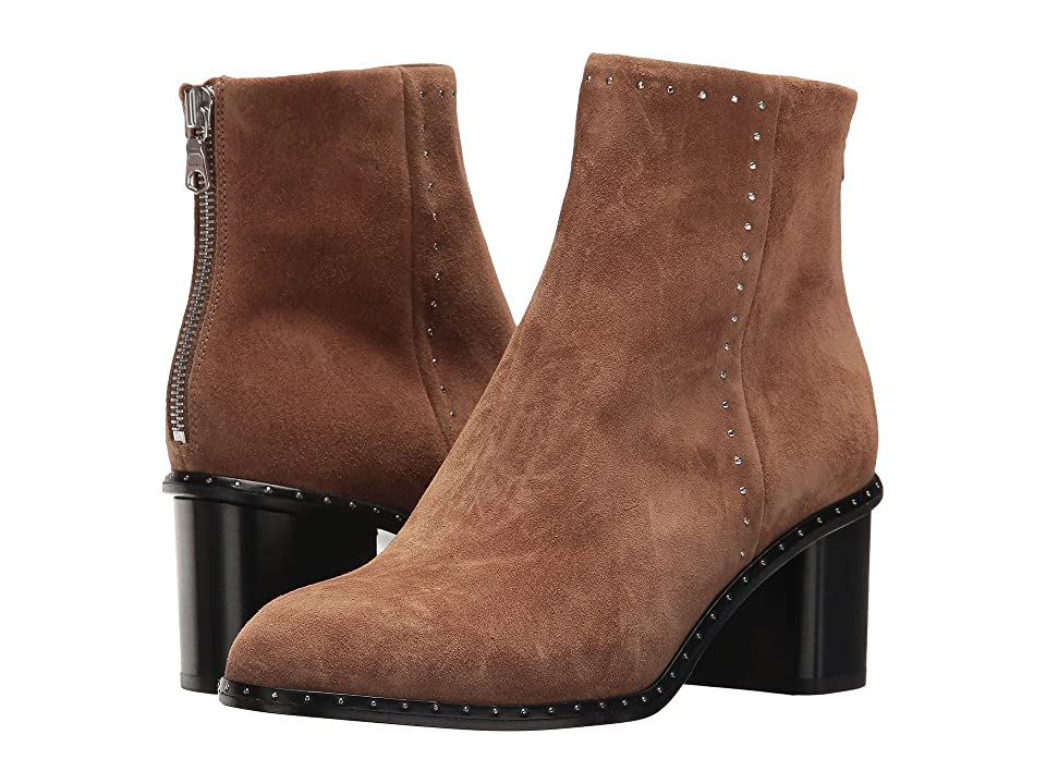 rag & bone Willow Stud Boot (Camel Suede) Women