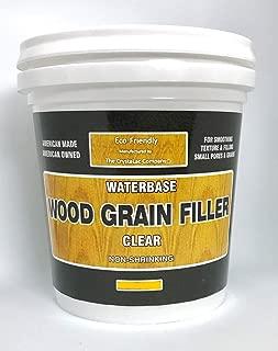 CrystaLac Wood Grain Filler Mini 1/2 Pint, 8oz, Clear