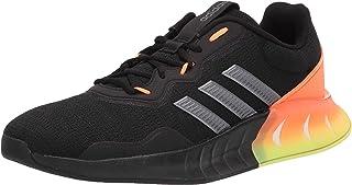 adidas Men's Kaptir Super Running Shoes, Black/Iron Metallic/Grey