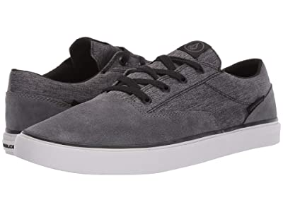 Volcom Draw Lo Suede Shoes (Grey) Men