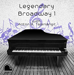 Legendary Broadway 1 - Yamaha Disklavier Compatible Player Piano Music on 3.5