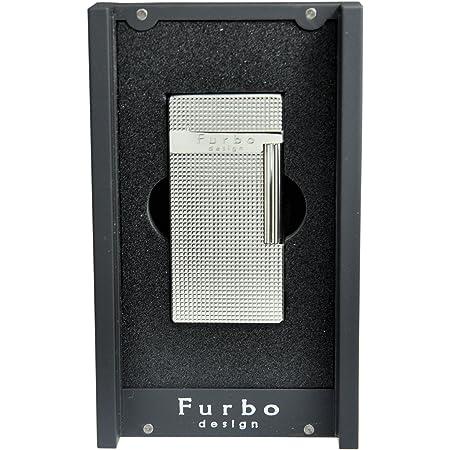 Furbo Design 【フルボデザイン】 フリント式ライター ダイアナシルバー/サテーナ FD100-04
