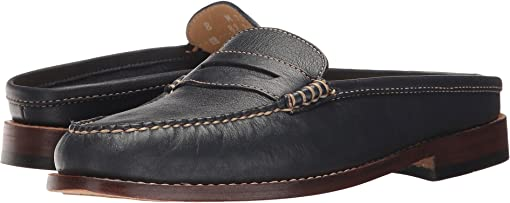 Navy Soft Tumbled Leather