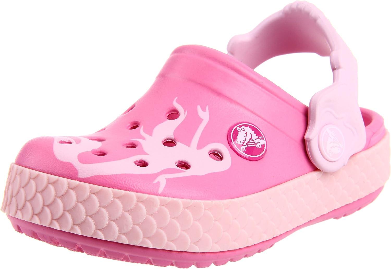 Crocs Girls' Chameleons CB Mermaid Clog