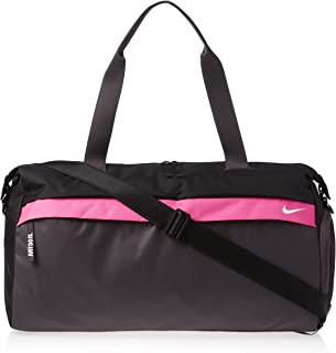 Nike Women's Duffel Bag, Black/Grey/White - NKBA5528