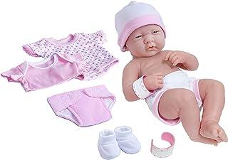 "La Newborn Nursery 8 Piece Layette Baby Doll Gift Set, featuring 14"" Life-Like.."