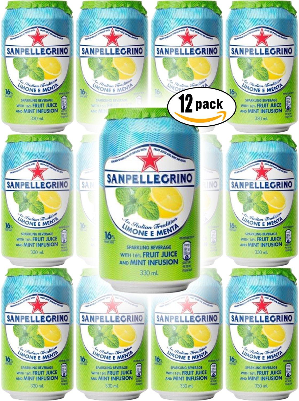 San Pellegrino Lemon Mint Lemone Japan Maker New Menta E Sparkling Fruit Over item handling ☆ Bev