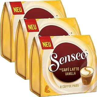 Senseo Monodosis Café Latte Vanilla, Vainilla Leche Café, Café con Leche Pad, 24Pads