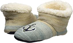 Sperry - Anchor Lurex Sherpa Slipper Sock