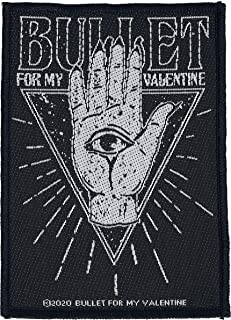Bullet For My Valentine All Seeing Eye Unisex Parche multicolor,