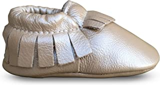 Baby Moccasins • Premium Leather • Infant, Baby & Toddler Shoes for Girls and Boys
