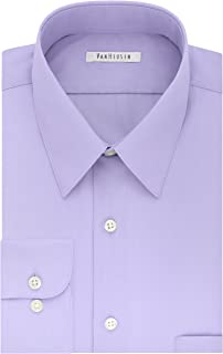 Van Heusen Men's TALL FIT Dress Shirts Poplin (Big and Tall)