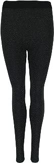 Women's Brushed Back Lined Glitter Leggings