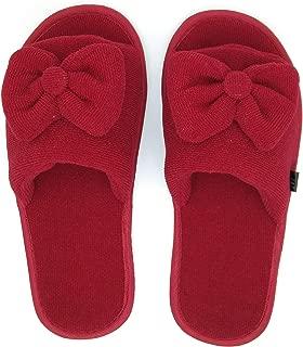 MF Open Toe Slippers for Girls Bow Design