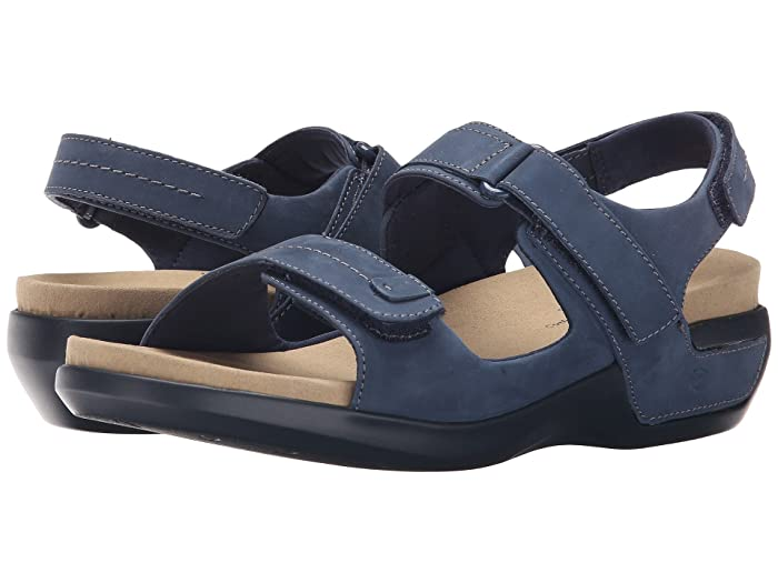 Aravon  Katy (Navy) Womens Sandals
