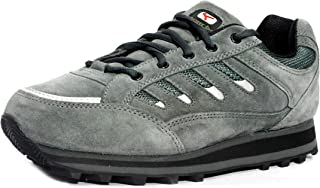 Lakhani 111 GREYPHITE Men Leather Sports Running Shoes.