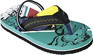 Hulk Kids Boys Green Color Flip-Flop
