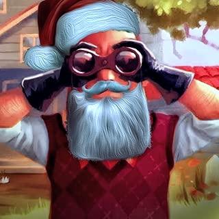 Creepy Five Nights Santa Claus Horror Escape: Crazy Neighbor House Spooky Game 2019
