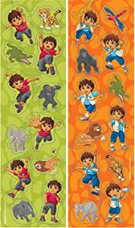 Diego's Biggest Rescue Sticker | Party Favor | 96 Sheets